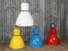 set of coloured industrial lights