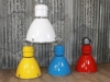 large coloured industrial lights