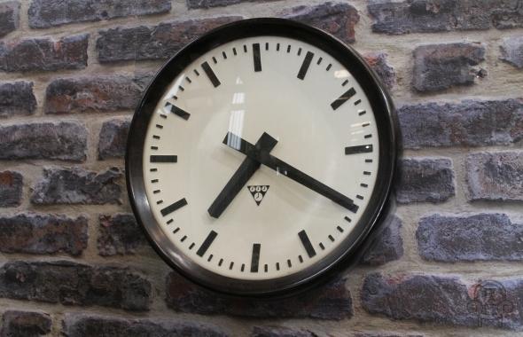 Industrial Style Wall Clock Bakelite Clocks