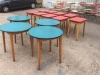 retro formica top tables