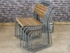 stacking chair industrial
