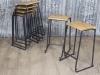 lab stool vintage