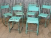 Vintage green stacking chair.jpg