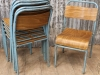 original stacking chair