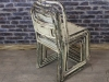 metal stacking chair