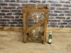 large vintage bottle crate