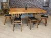 wooden vintage stool