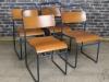 original stacking restaurant chairs