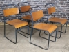 vintage restaurant cafe chairs