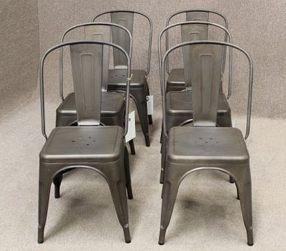 iron tolix chairs