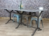 restaurant cast iron family table