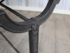 vintage stone top kitchen dining table