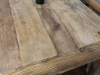 rustic elm restaurant dining table
