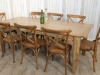 farmhouse oak kitchen table