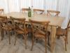farmhouse oak kitchen table