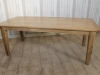 large farmhouse dining table