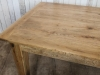 reclaimed oak dining table