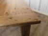 reclaimed oak kitchen table