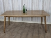 oak farmhouse dining table