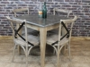 blue stone top dining tables