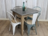 industrial bistro table