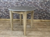 pine base stone table