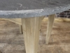reclaimed pine base tables