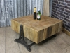 vintage industrial style table