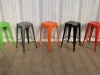 multi coloured restaurant stool