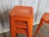 pub stool vintage tolix style