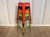 stacking tolix style stools