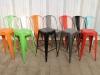 industrial bar pub stool multi colour