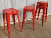 tolix style pub stool