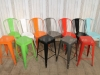 funky industrial stacking stools