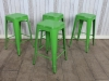 stackable restaurant cafe tolix style stool