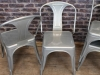 industrial style galvanised tolix chair