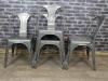 restaurant kitchen tolix style chair