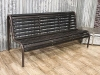 antique industrial bench