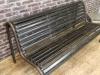 old garden bench
