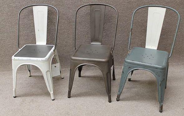 pressed metal furniture. Range Tolix Chairs Pressed Metal Furniture