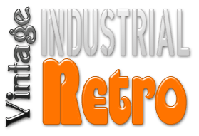 Vintage Industrial Retro furniture in the UK